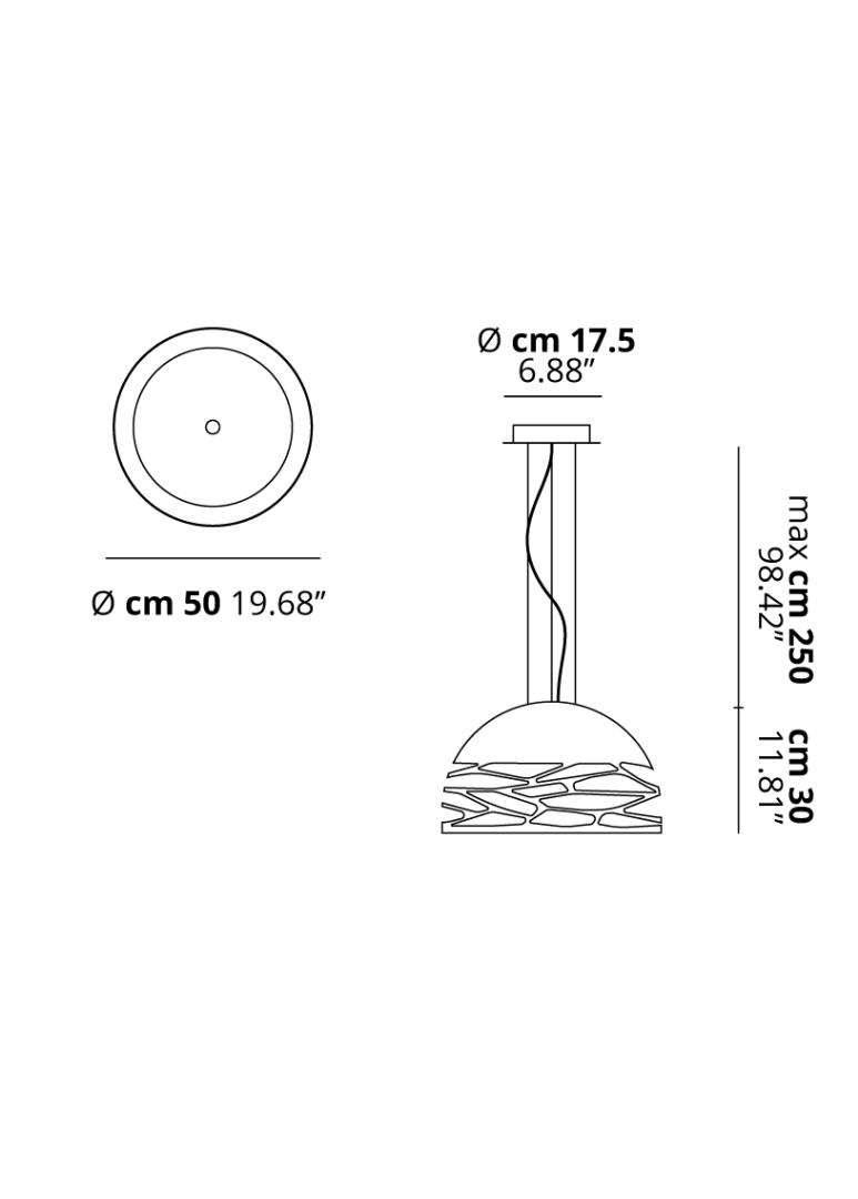 Studio Italia Design Kelly Fluorescent Light Bulbs Diagram Lamp Eurolite 23w Has A Small Dome 50 Technical Draw